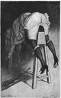 Victorian Punishment Horse